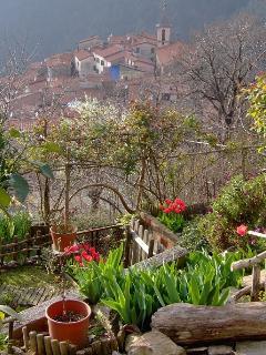 Front garden overlooking Pariana Village.
