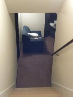 stairs to down LR and BR