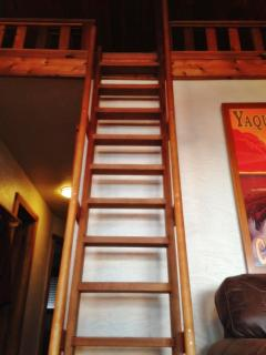 Ladder to kid's loft