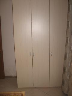 Bedroom closet (ground level)
