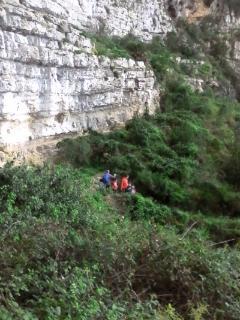 Excursión a la cova de l'aigua