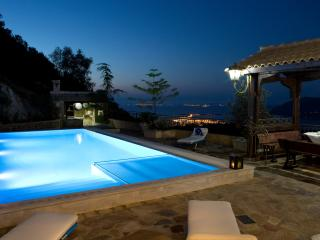 Brand new stone-built traditional villa with pool, Lefkada