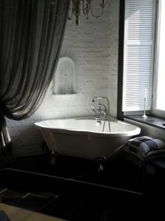 A bath with a view.....
