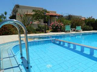 Villa Maria - come along and have a dip in our wonderful pool 8 m x 10 m. .75 m deep kids area. .