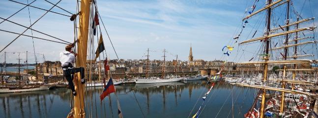 Les Grands Voliiers à Saint-Malo.