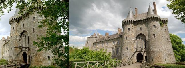 Le château de Montmuran.