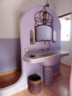 La salle de bains Améthyste