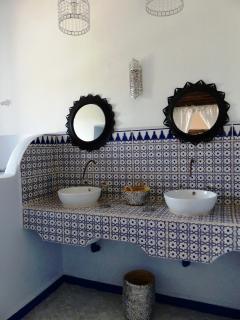 La salle de bains Majorelle