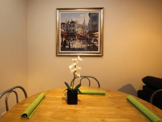 Dining table with seats for 4 people