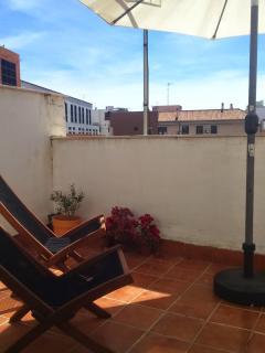 Descanso en terraza principal