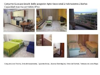 Apartamento GuacucoBeach 8personas 2H 2B A401