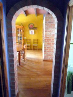 El comedor desde el pasillo.