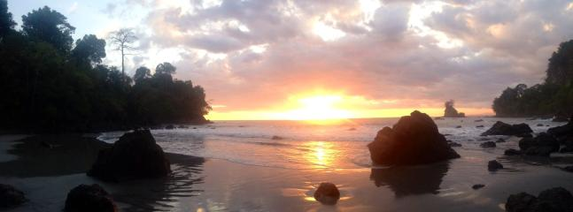 Sunset at secret beach!