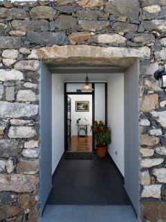 Old main door