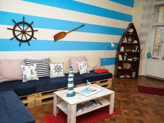 Nautical apartment with 2 bathrooms, Praga