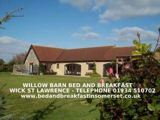 WILLOW BARN   superior Bed and Breakfast, Wick St. Lawrence