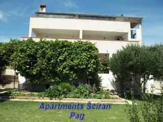 Apartmani Šciran - Ap 6+2, Pag