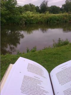 Sit on the Balcony with a Shakespeare Sonnet and this view of the Rivet Avon