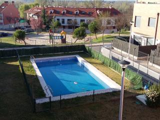 Ático nuevo diseño en Valladolid .Terrazas. piscin