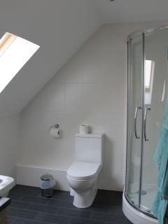 Shower en-suite to the King bedroom