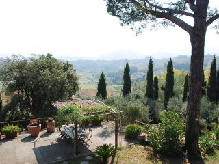 Ideal summer vacation villa with panoramic terraces and pool. SAL FAN, Lucca