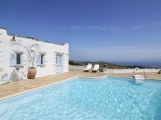 Fantastic sea view villa  with pool in Lefkes