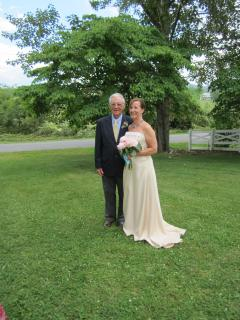 The Bride and proud Father.