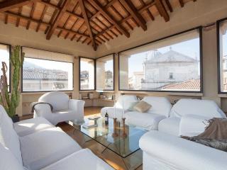 ATTICO panoramico affrescata Spoleto, 6 posti letto