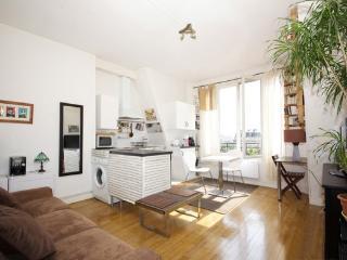 Bel appartement très clair de 40m² à Alésia, Paris
