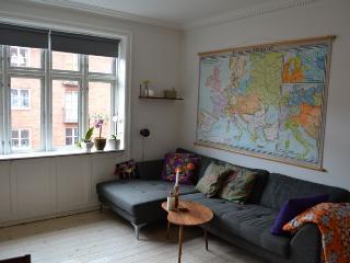 Bright Copenhagen apartment near Amagerbro metro, Copenhague