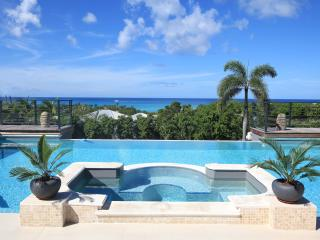 GISELLE... This magnificent St Martin villa is perched on a hillside in the French Lowlands overlooking Plum Baie & Baie Rogue., St. Maarten
