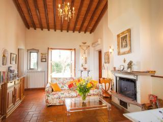 Living Room - facing the garden - La Colonica