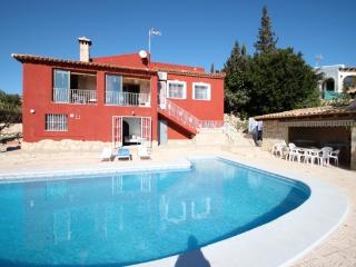 Elvira villa with spectacular views in Calpe