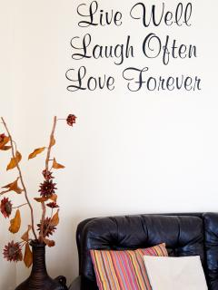 Holidays at Villa Hannah ensure you Live Well, Laugh Often & Love Forever!