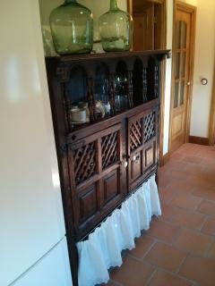 Mueble para los utensilios de cocina