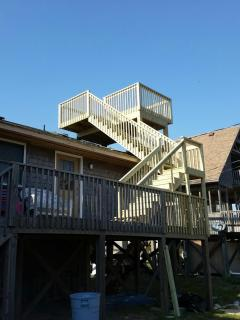 New Crows nest off Oceanside back porch!