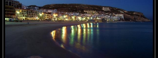Sesimbra at night
