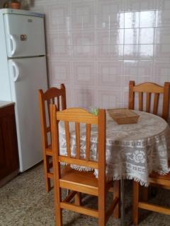 Detalle de su amplia cocina.
