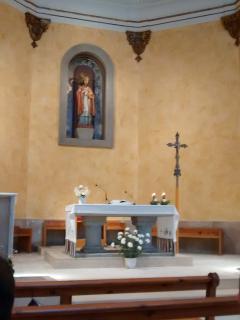 Altar Iglesia 'Sta. María de Avià'