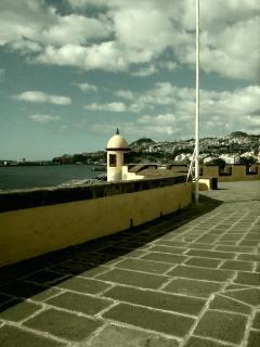 Vista para o Forte de Sao Tiago