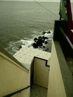 Escadaria com Vista para o mar