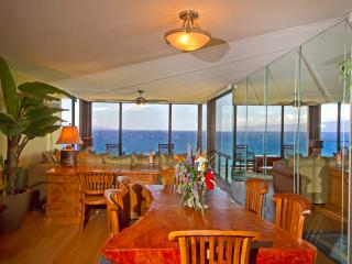 Enjoy the incredible views from the dining room table