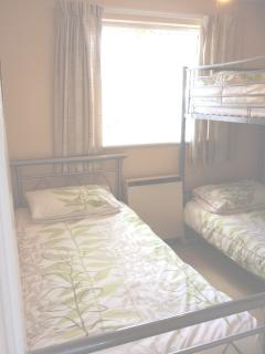 Single bed with bunks