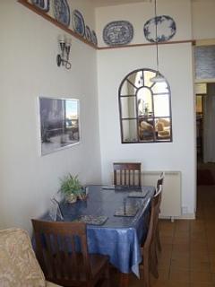 Dining area longside