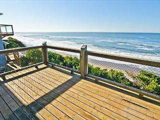 Oceanfront Home has Multiple Decks, Stellar Views, Gleneden Beach