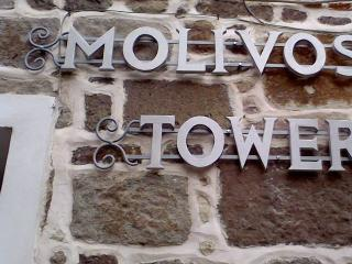 MOLIVOS TOWER - traditional stonehouse villa 1750', Molyvos (Metimna)