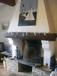 Beautiful Provencal fireplace