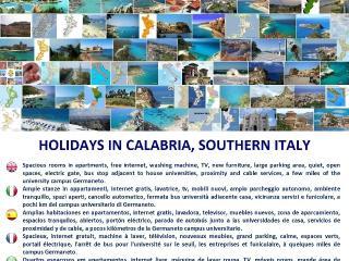 Trilocale per le tue vacanze in Calabria, Catanzaro