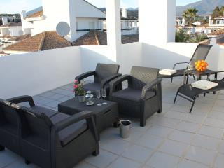 Luxury penthouse with pool,near golf, Puerto Banus