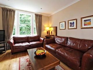 Sitting Room Comfy Leather Sofas and Chaise